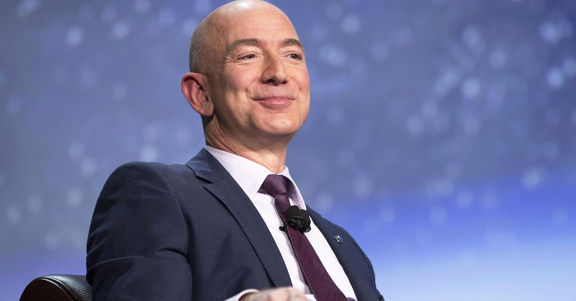Amazon's Jeff Bezos wealth hits $105.1 billion