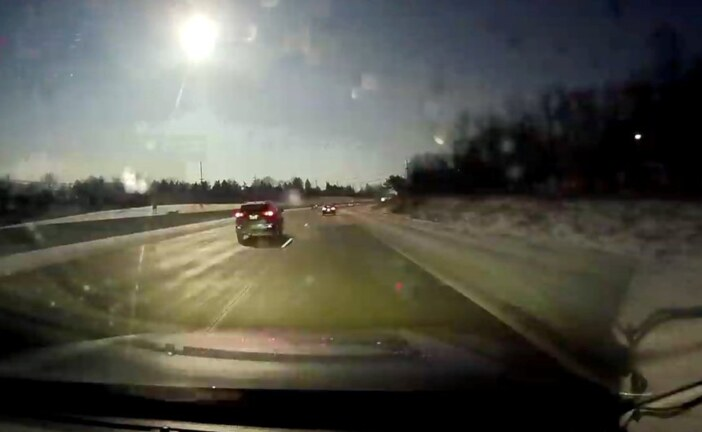 Fireball Cuts Through the Sky Over Michigan as Meteor Falls