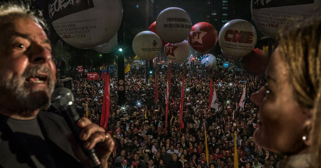 Leftist Lion and Far-Right Provocateur Vie for Brazil Presidency