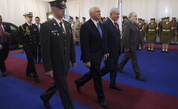 Mike Pence Says U.S. Embassy Will Open in Jerusalem Next Year
