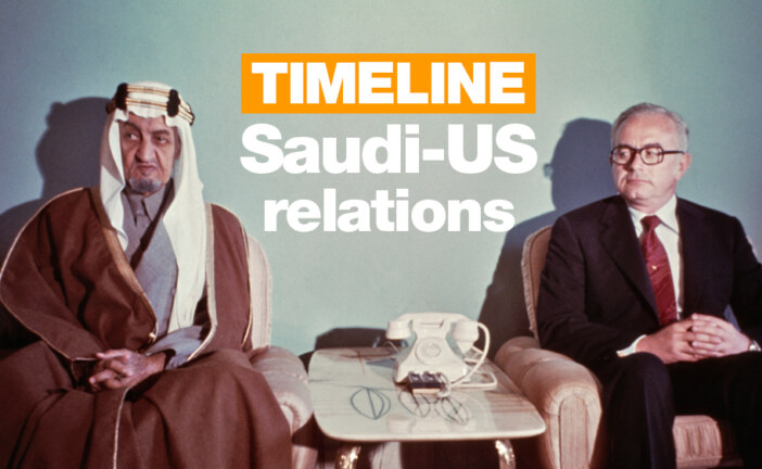 US-Saudi relations: A timeline |