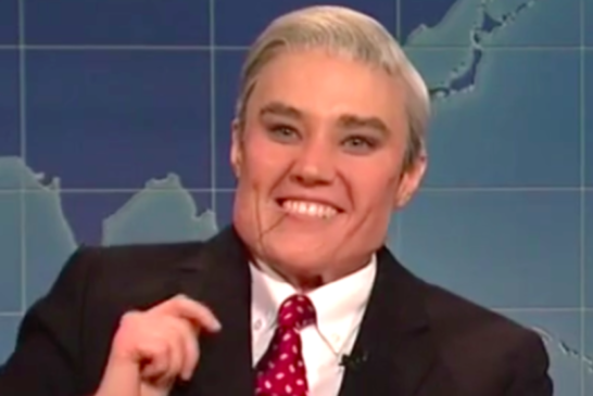Gleeful Kate McKinnon Unleashes Her Inner Robert Mueller On 'SNL'