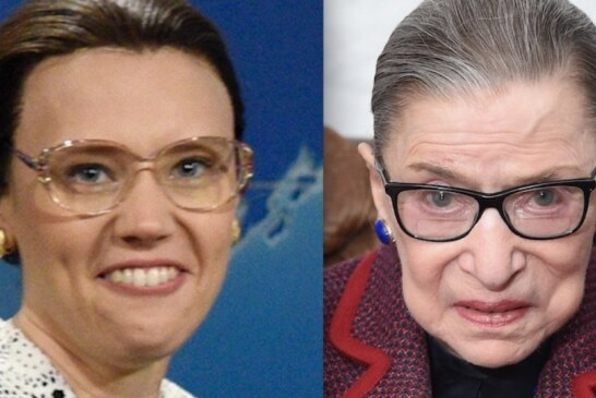 Ruth Bader Ginsburg Opens Up About Her 'Saturday Night Live' Doppelganger