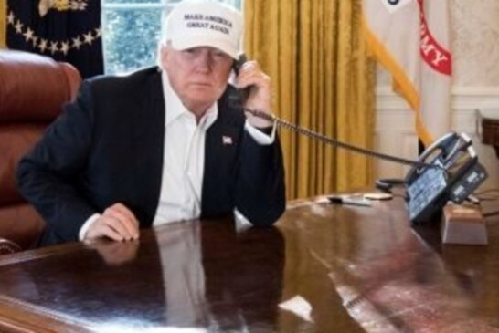 The White House Says This Photo Shows Trump Working. People Aren't Buying It.