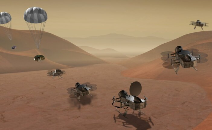 Finalists in NASA's Spacecraft Sweepstakes: A Drone on Titan, and a Comet-Chaser
