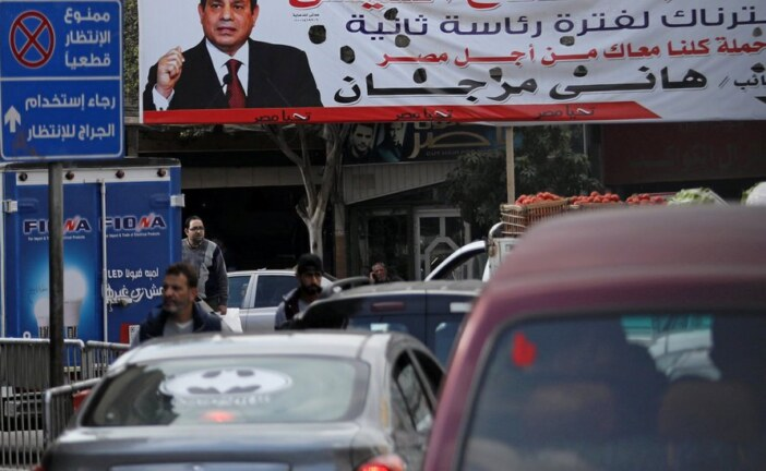 Sisi, Egypt's Leader, Will Seek 2nd Term, and the Field Is Nearly Empty