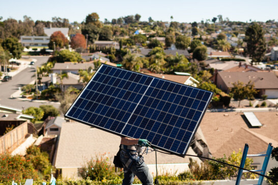 Tesla Faces a Challenger in the Home Solar Business