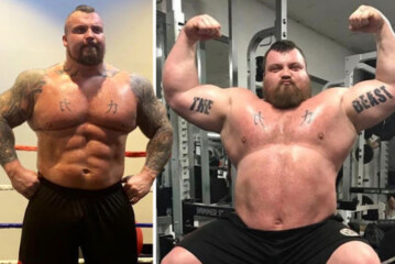 Eddie Hall weight loss: Deadlift star shares diet tips after losing FIVE stone in year