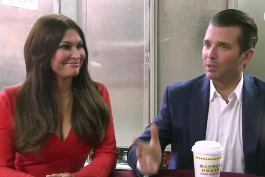 Donald Trump Jr. and Kimberly Guilfoyle hit the midterms campaign trail
