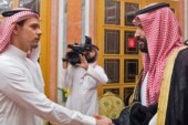 Outrage Over a Handshake Between Khashoggi Son and the Crown Prince