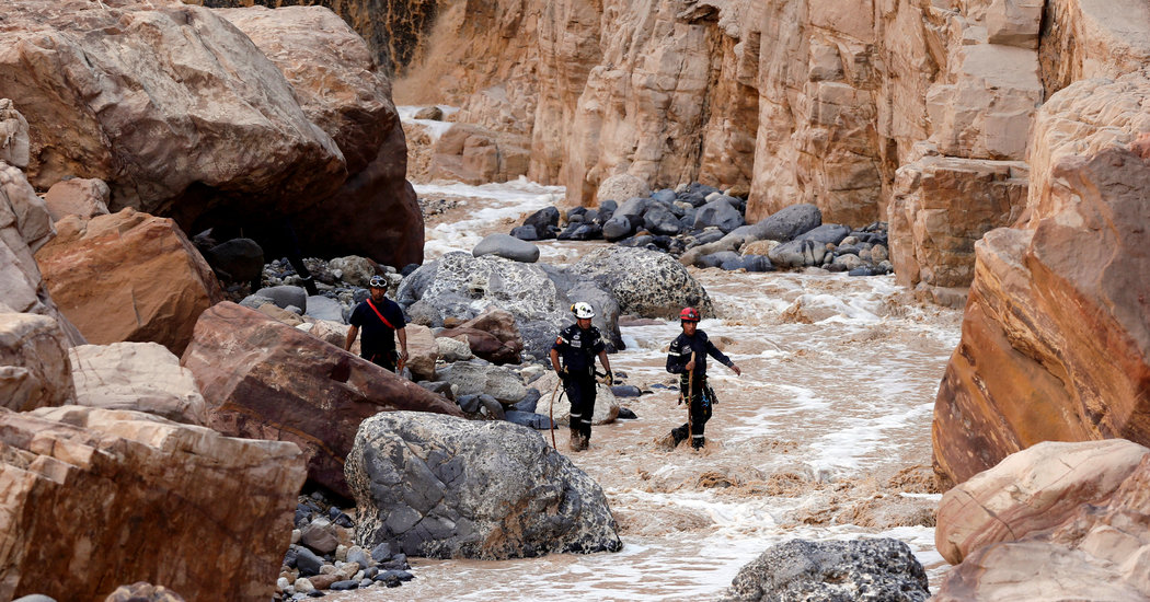Death Toll in Jordan Flood Reaches 21, but Grief Quickly Turns to Anger