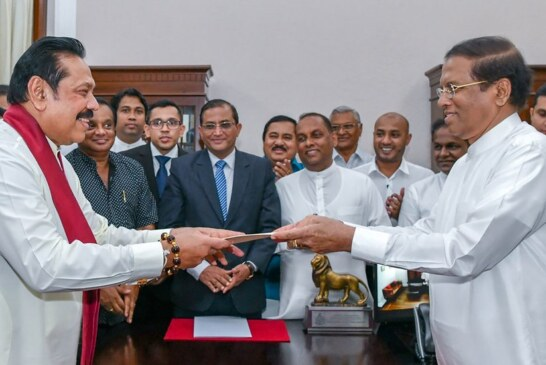 Sri Lanka Faces Constitutional Crisis as President Unseats Prime Minister