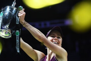 Elina Svitolina Beats Sloane Stephens to Win the WTA Finals