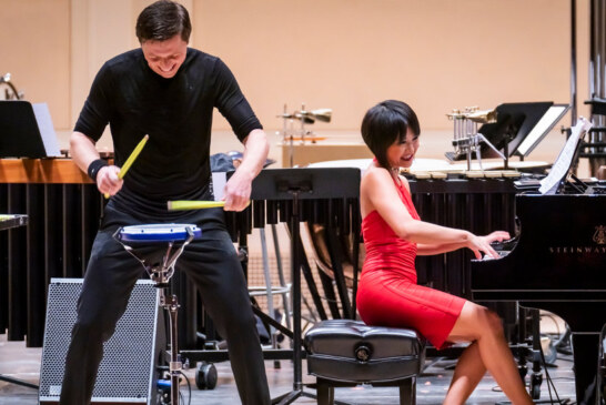 Review: Yuja Wang Makes a Case for the Piano as Percussion