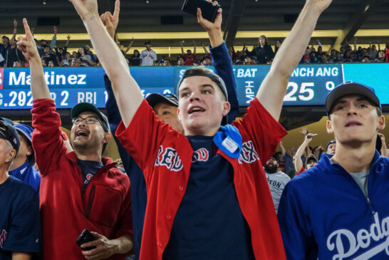 Red Sox Fans, With a Title to Cheer, Choose the Yankees to Jeer