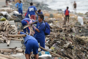 Rescue Workers Search for Missing After Typhoon Strikes Philippines