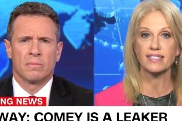 'Demonstrably False': Chris Cuomo Slams Kellyanne Conway's Latest Trump Claim
