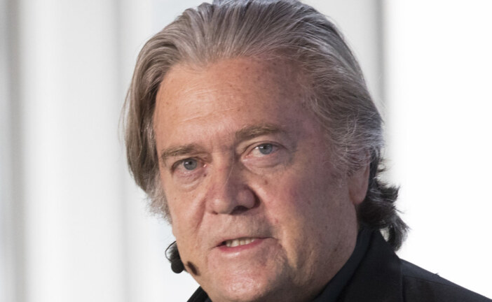 Steve Bannon's Screening Of His New Donald Trump Movie Goes Awry