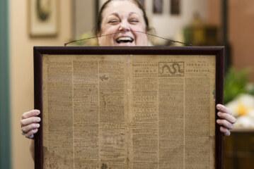 Goodwill Workers In NJ Find Original 1774 'Rebel' Newspaper
