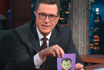 Stephen Colbert Makes 'Complicit' Ivanka Trump Her Own Vampire Halloween Card