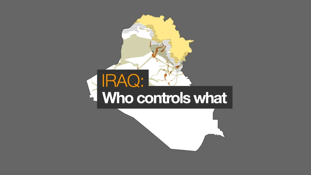 Iraq war map: Who controls what | ISIS/ISIL