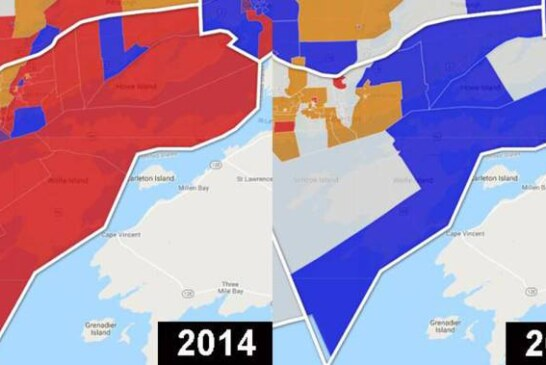 Ontario's startling election in eight before-and-after maps