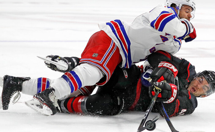 Rangers Lose the Lead Four Times and the Game to the Hurricanes