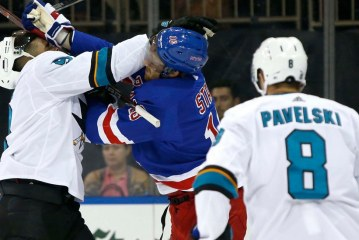 Rangers Top Sharks in Overtime, Giving New Coach First Win