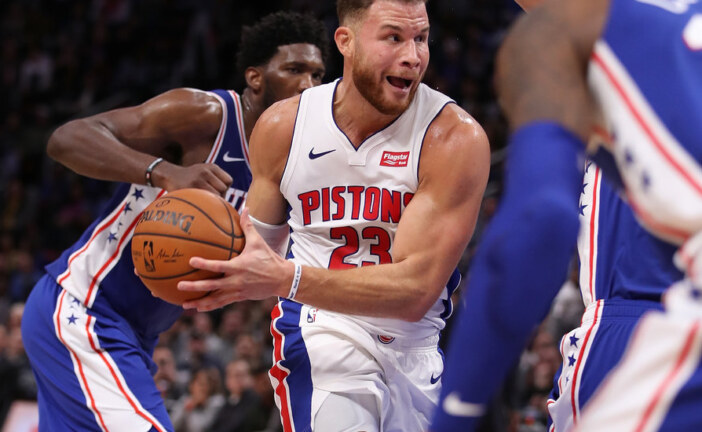 A Rejuvenated Blake Griffin Scores 50 Points in Pistons' Win