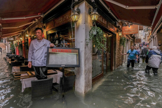 As Tourists Frolic in Venice's Rising Waters, Locals Fear for the City's Treasures