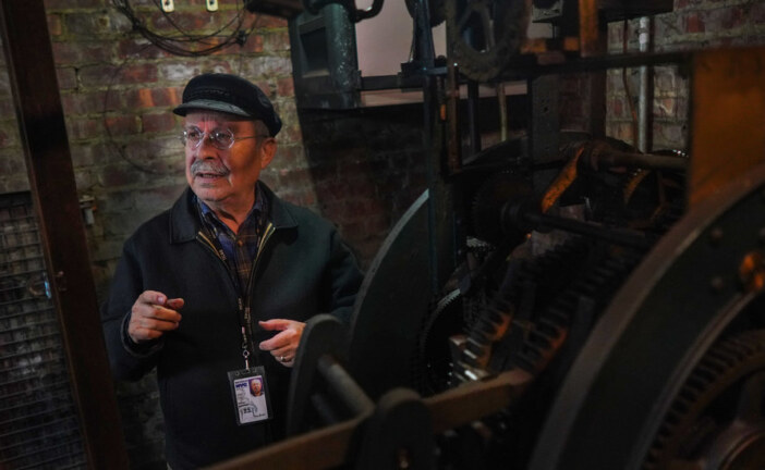The Man Who Turns Back New York City's Clocks, Hand by Hand