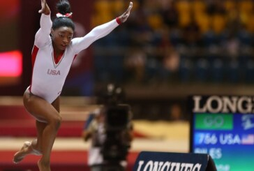 Simone Biles Sets Record With 13th Career Gold at World Championships