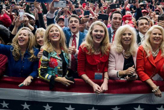 At Trump Rallies, Women See a Hero Protecting a Way of Life