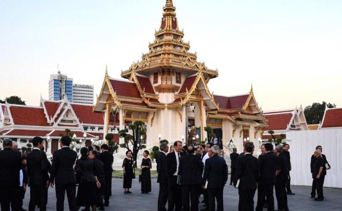 Thai Elite Turn Out for Leicester City Owner's Funeral Services