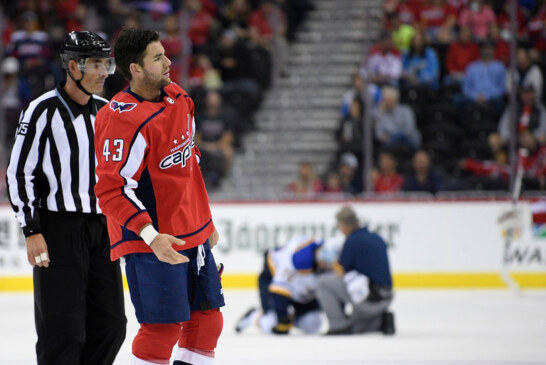 N.H.L. Suspends Capitals' Tom Wilson for 20 Games