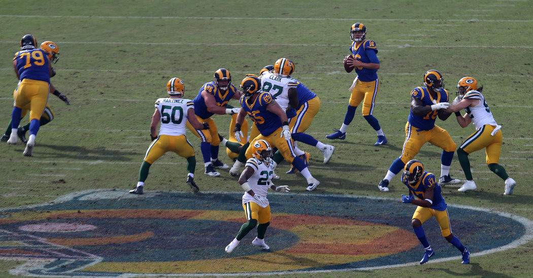 Vaunted Line Keeps the Rams' Offense Uninterrupted