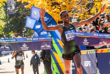 Lelisa Desisa Wins the New York City Marathon in the Last Miles