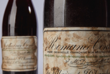 Bottle of wine sells for a record $558,000