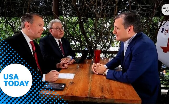 Ted Cruz talks law enforcement, border patrol ahead of election