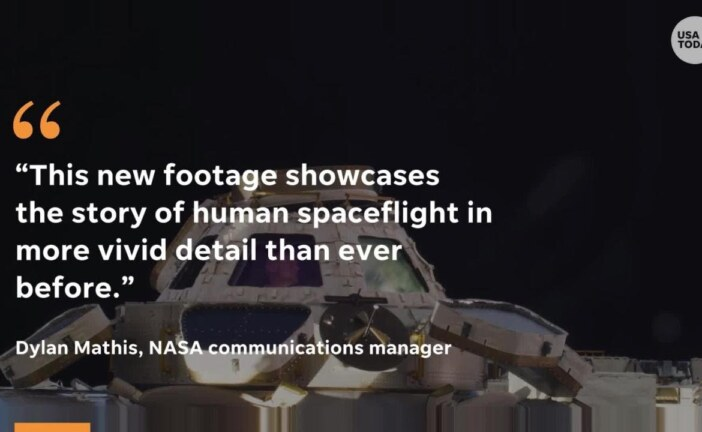 NASA releases first-ever 8K video from space