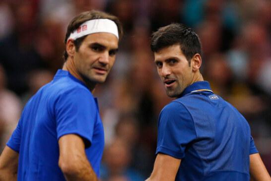 Roger Federer and Novak Djokovic Become Besties