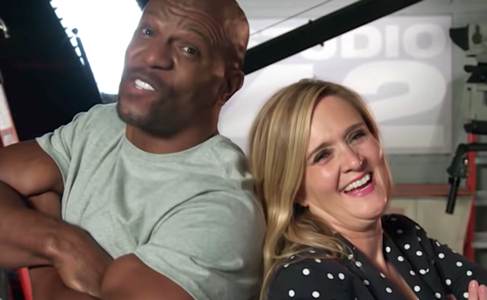 Samantha Bee Recruits Terry Crews For Funny, But Serious, PSA On Male Sexual Abuse