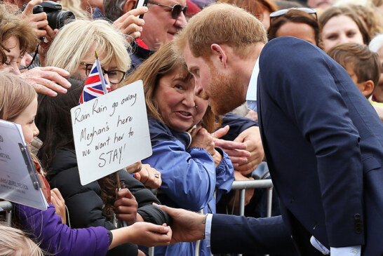 Prince Harry Said The Sweetest Thing To A Boy Who Also Lost His Mom