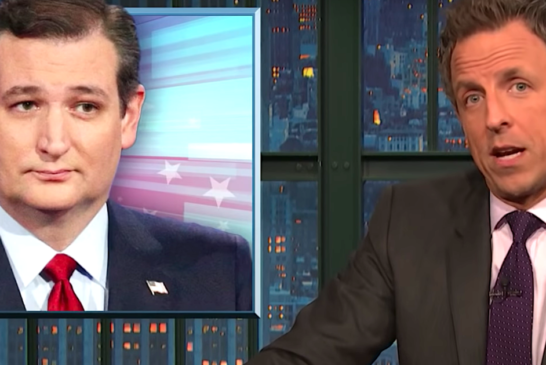 Seth Meyers Turns Ted Cruz's Past Words About Birthright Citizenship Against Him