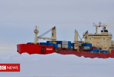 Is the Arctic set to become a main shipping route?