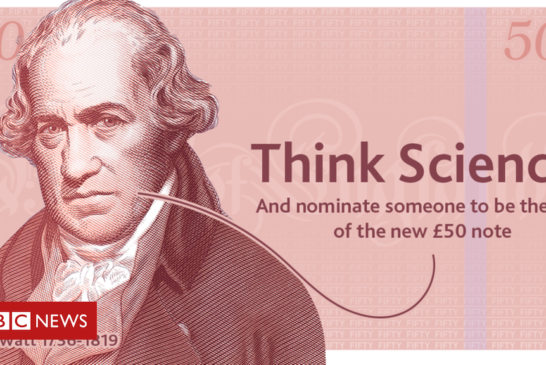 New £50 note will feature a British scientist