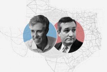 Beto O'Rourke and Ted Cruz: Texas Senate Race