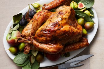 Roast Turkey With Garlic and Anchovies