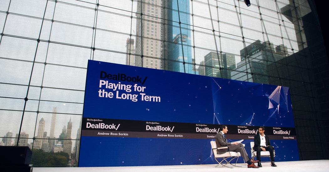 DealBook Conference Live Updates: Google C.E.O.'s Mea Culpa