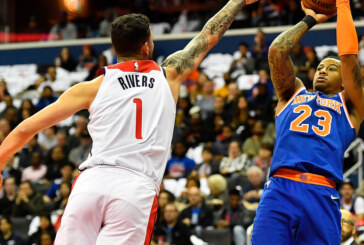 Knicks Stymied by Wizards' Lowly Defense